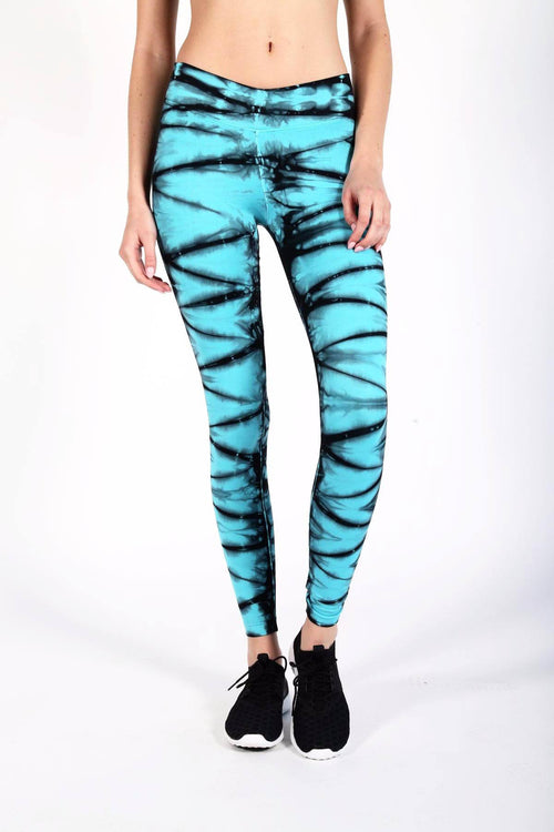 V-Ankle Pant - Blue Beyond - INFLOWSTYLE  - 1