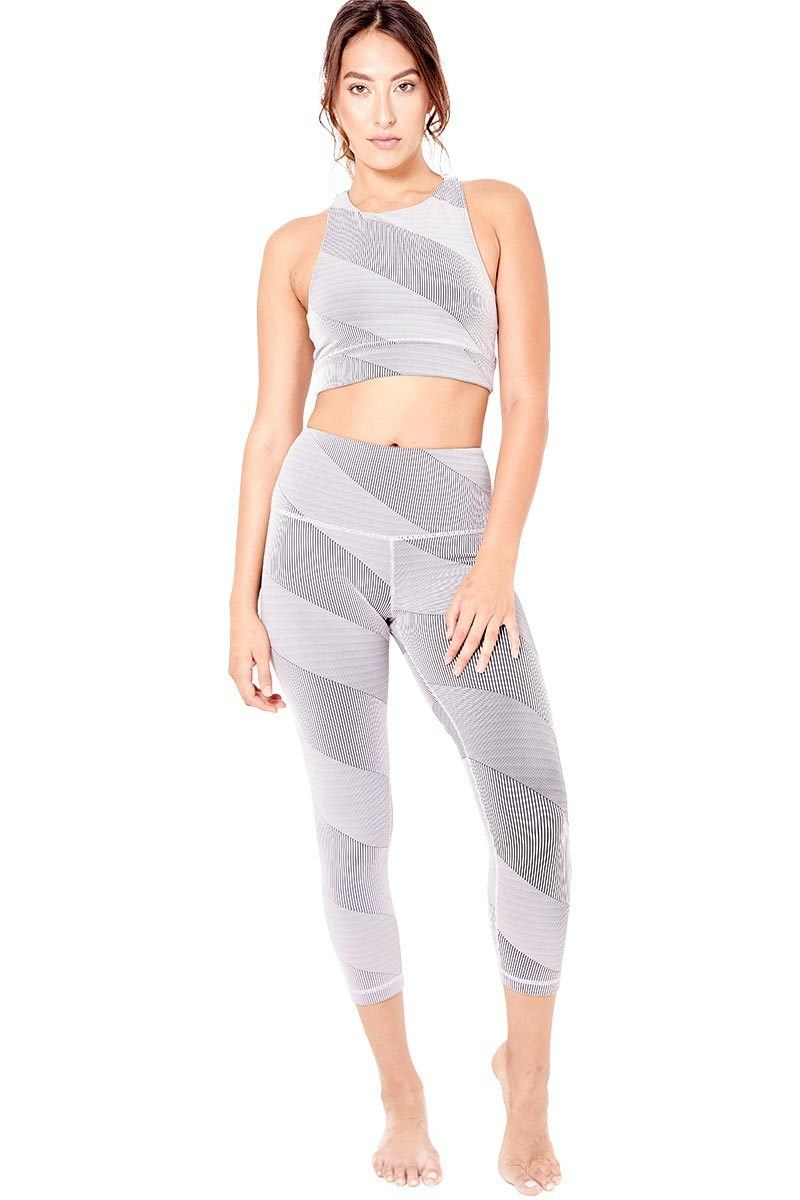 High Waisted Core Crop - Nimbus - Vimmia | INFLOWSTYLE
