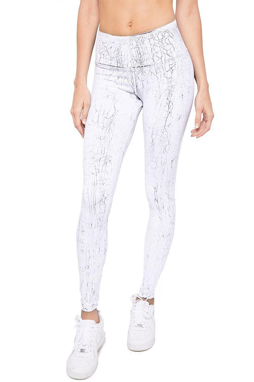 High Waist Crackle Legging - Vimmia | INFLOWSTYLE