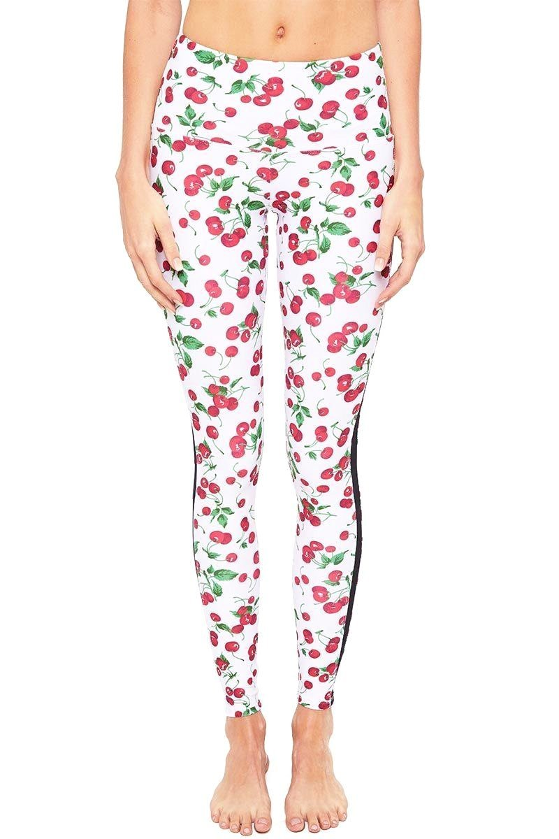 Gemma Ankle Pant - Cherry - Strut-This | INFLOWSTYLE