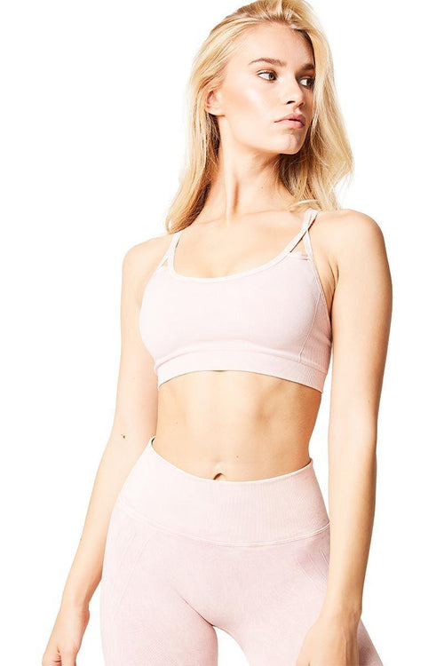Levitate Bra - Mineral Pink - Nux | INFLOWSTYLE