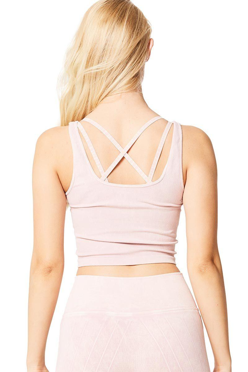 Be Free Scoop Tank - Mineral Pink - Nux | INFLOWSTYLE