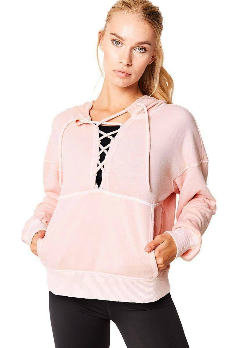 Believer Sweat  - Pink - Free People | INFLOWSTYLE