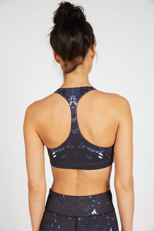 Ashley Racerback Bralette - Serengeti Nights - Vie Active | INFLOWSTYLE