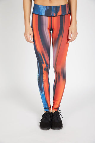 Printed Long Legging - Fresco