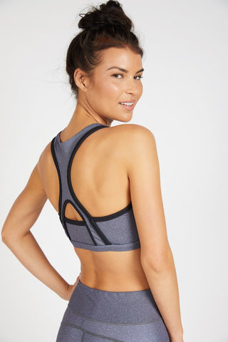 Alyssa Sports Bra - Herringbone