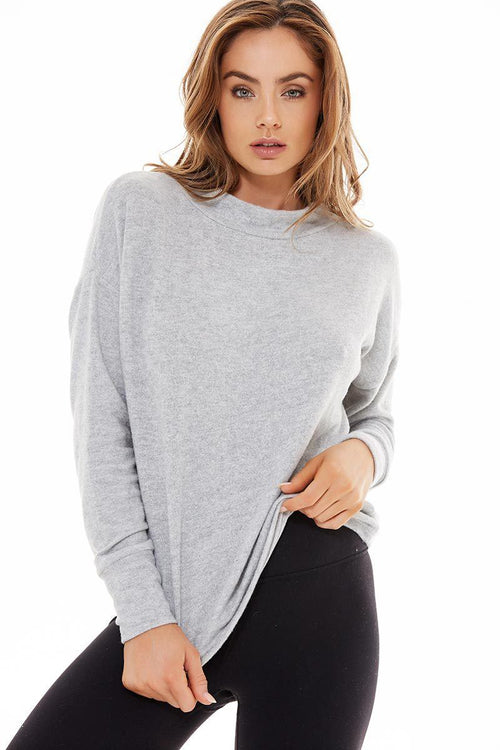Kingsmill Revive Sweat - Light Grey - Varley | INFLOWSTYLE