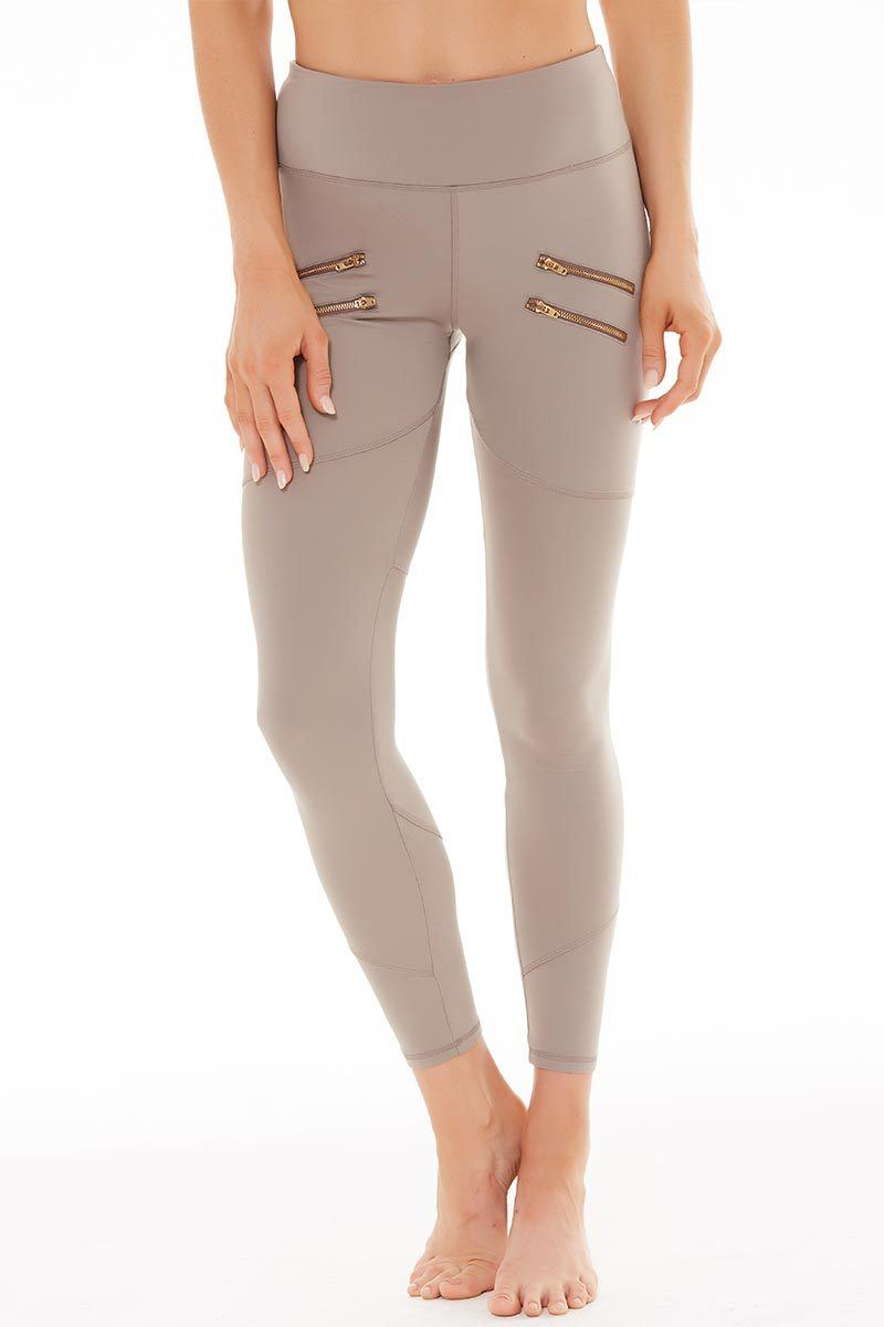 Palms Tight - Taupe - Varley | INFLOWSTYLE