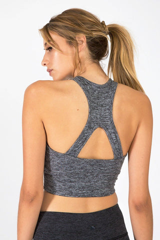 The Bowie Crop - Grey