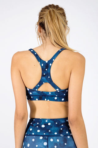 Speedway Sports Bra - Starry Night