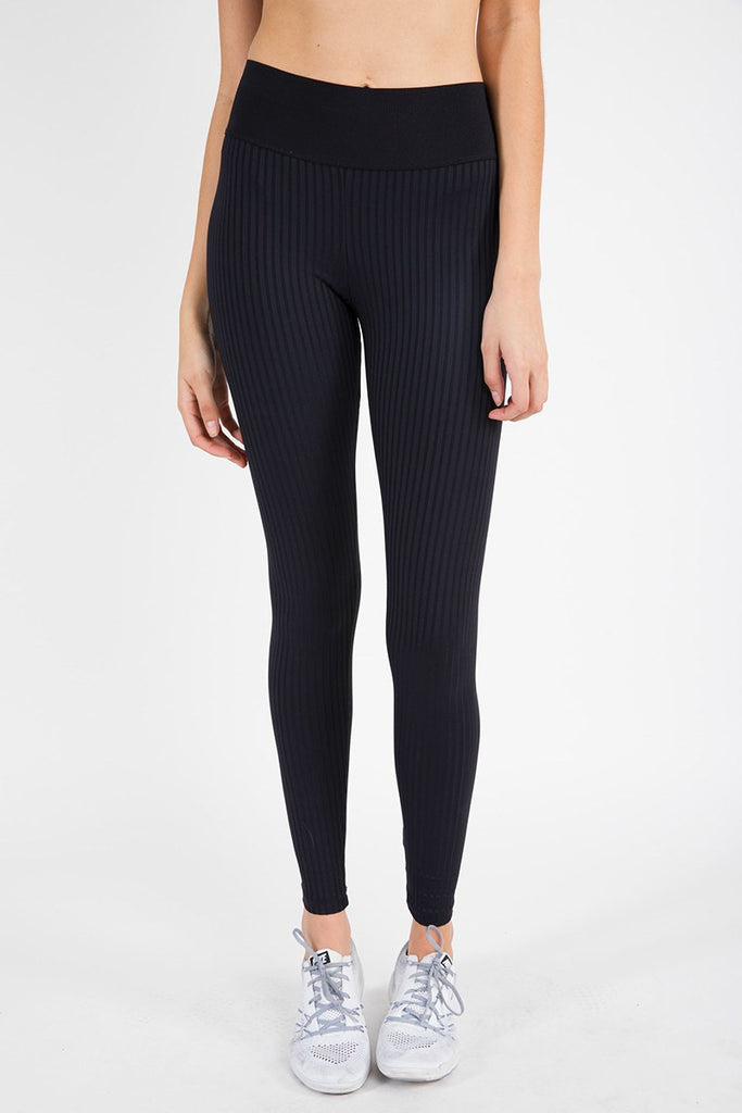 High Waist Legging - Jet Black