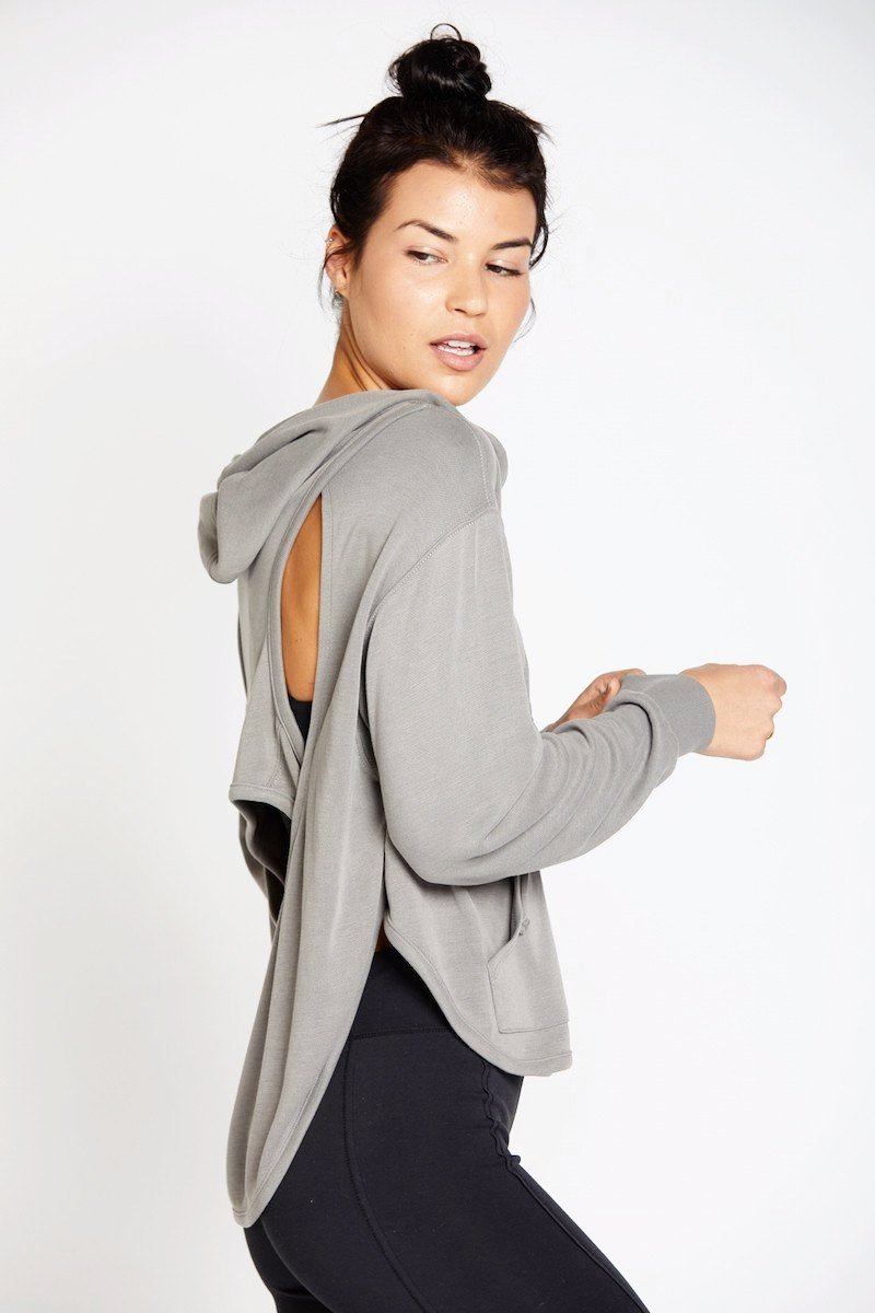 Back Into It Hoodie - Green - Free People | INFLOWSTYLE