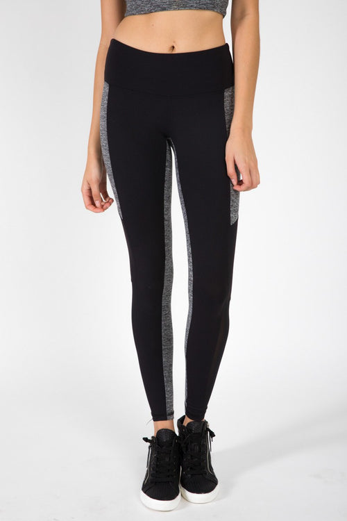 The Strut Pant - Black & Grey Moss - Strut-This | INFLOWSTYLE