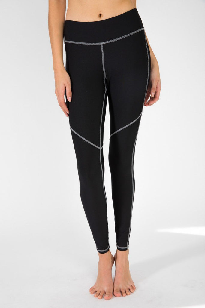 Crescent Legging - Pirate
