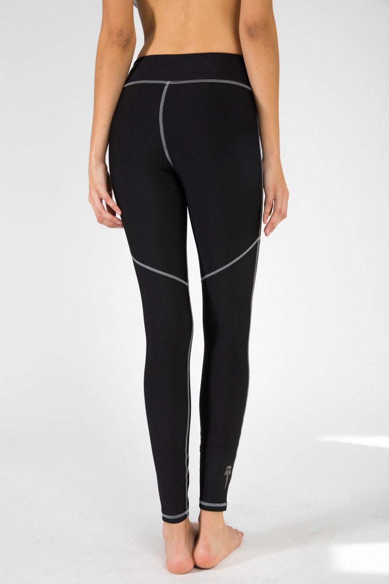 Crescent Legging - Electric & Rose | INFLOWSTYLE