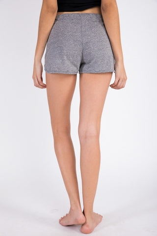 Napoli Jog Short - Heather Grey