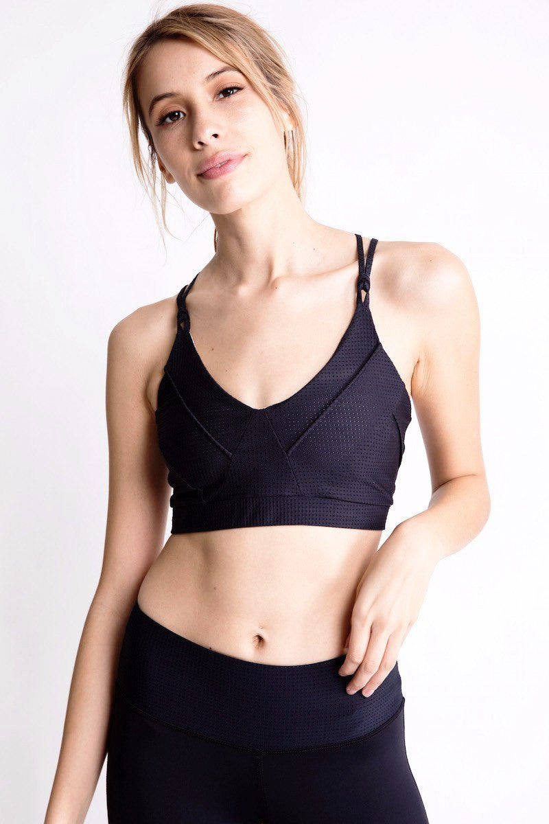 Triangle Sports Bra - Track & Bliss | INFLOWSTYLE