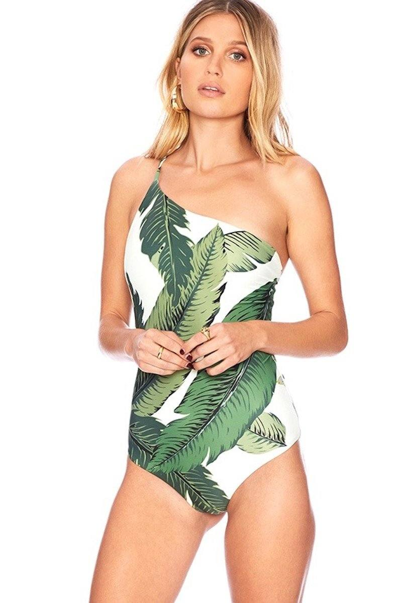 Jen One Piece - Palm - Beach Riot | INFLOWSTYLE