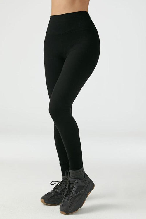 Balance Legging - Black FlexRib - Joah Brown | INFLOWSTYLE