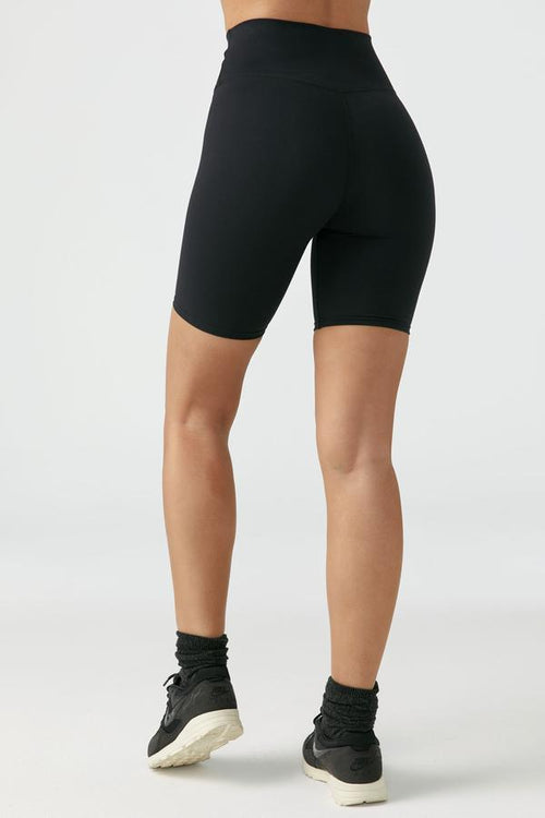 The Biker Short - Black FlexRib