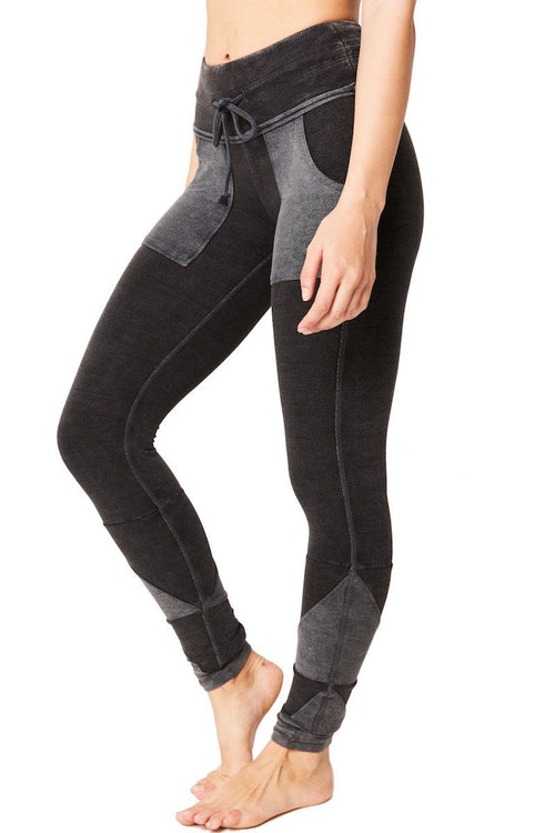 Kyoto Legging - Washed Black - Free People | INFLOWSTYLE