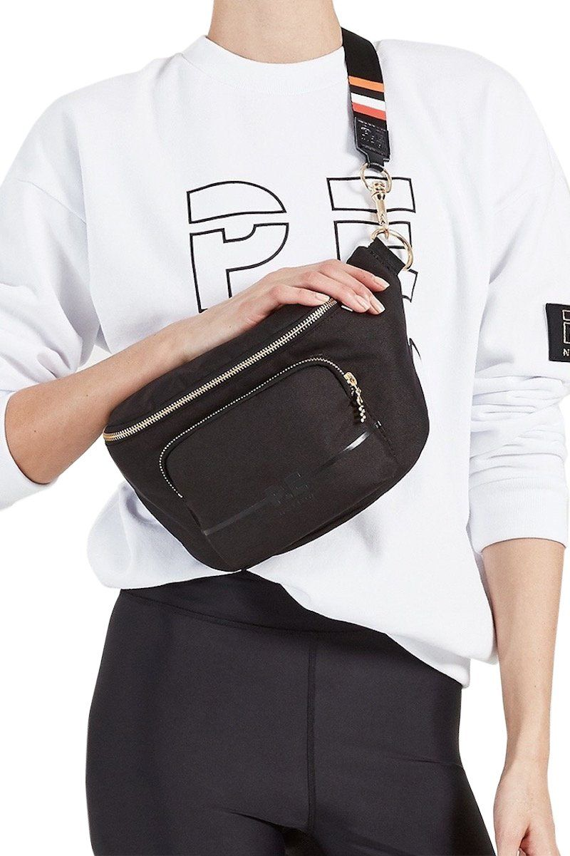 Lay Back Bumbag - Black - PE Nation | INFLOWSTYLE