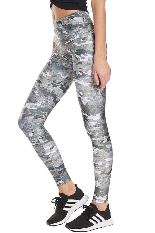 High Rise Legging - Marble Camo - Onzie | INFLOWSTYLE