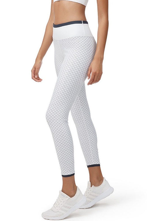 Mirage 7/8 Legging - White