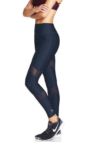 Moto Long Tight - Navy