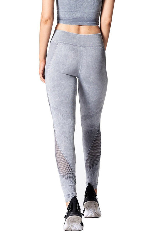 Network Legging - Stone Wash