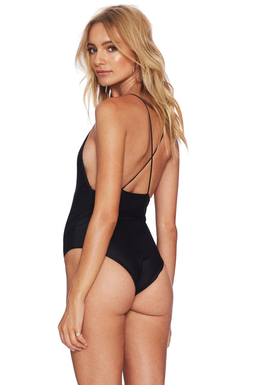 Nicolette One Piece - Black - Beach Riot | INFLOWSTYLE