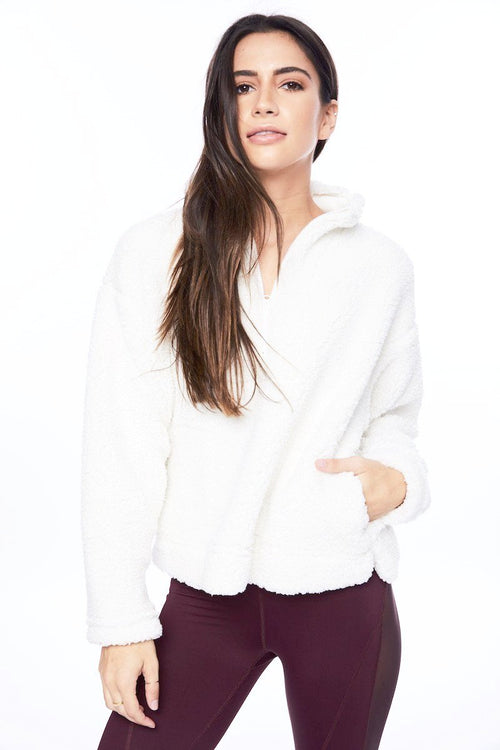 Northstar Pull Over - Silk - Electric & Rose | INFLOWSTYLE