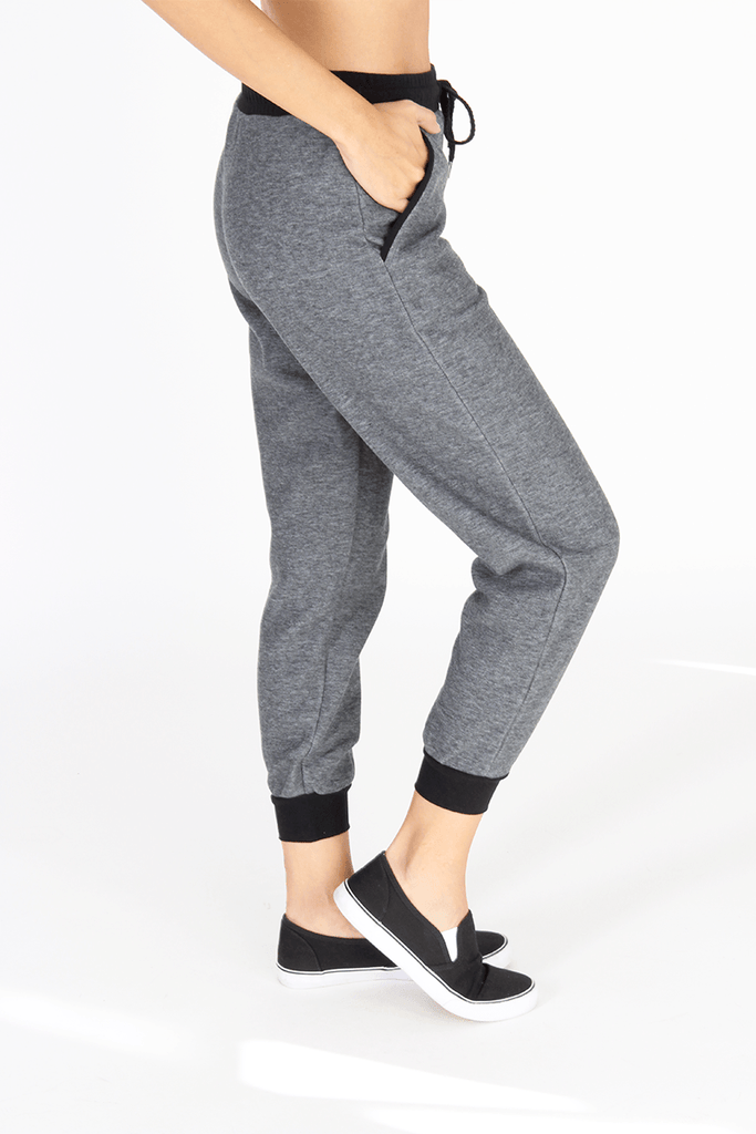 Sweatpant - Heather Grey - INFLOWSTYLE  - 1
