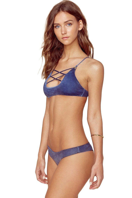 Island Fever Brazilian Bottom - Pacific Wash - Blue Life | INFLOWSTYLE