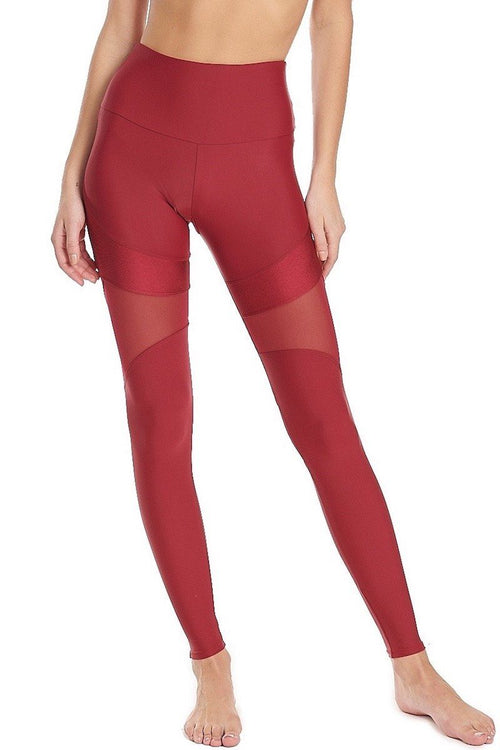 Royal Legging - Burgundy