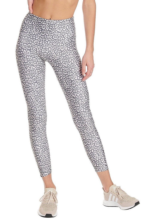 High Rise Midi Legging - Sandy Cat