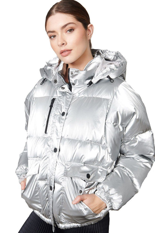 Mont Blanc Puffer - Silver