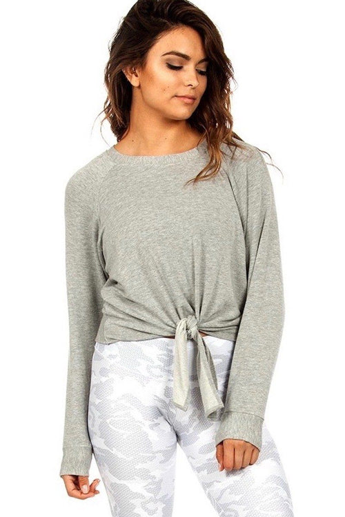 The Sky Sweatshirt - Grey - Strut-This | INFLOWSTYLE