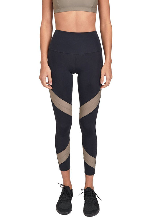 Sporty Legging - Black Dust
