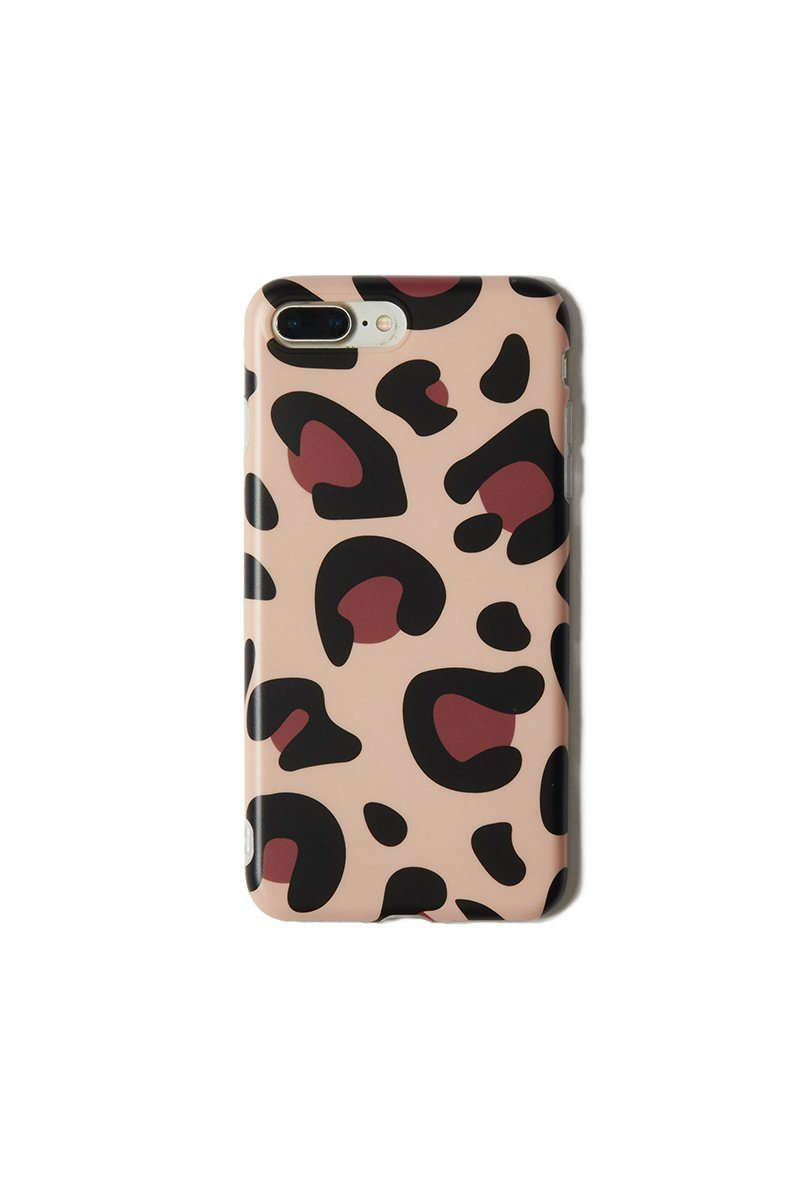 Tan Leopard iPhone 6/7/8 Plus Case