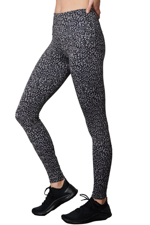Tech Legging - Honey Leopard