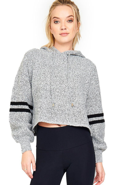 Varsity Sweater - Heather Grey