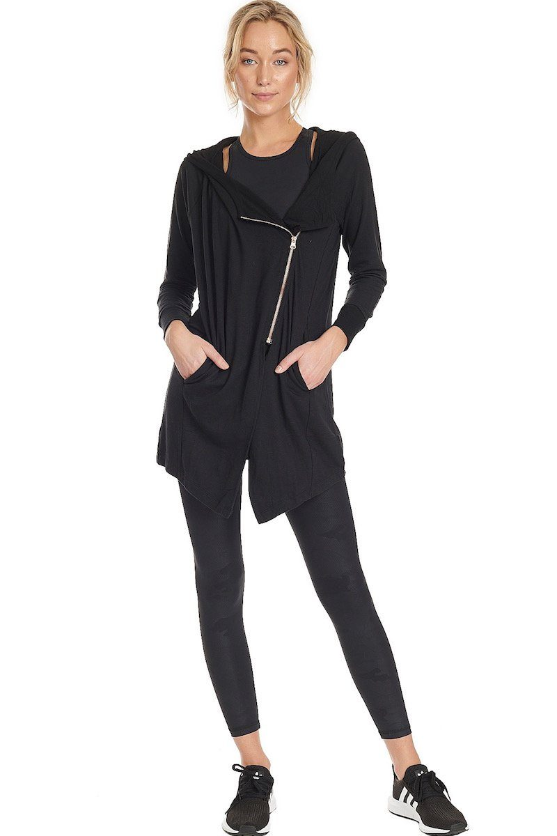 Wrap Jacket - Black