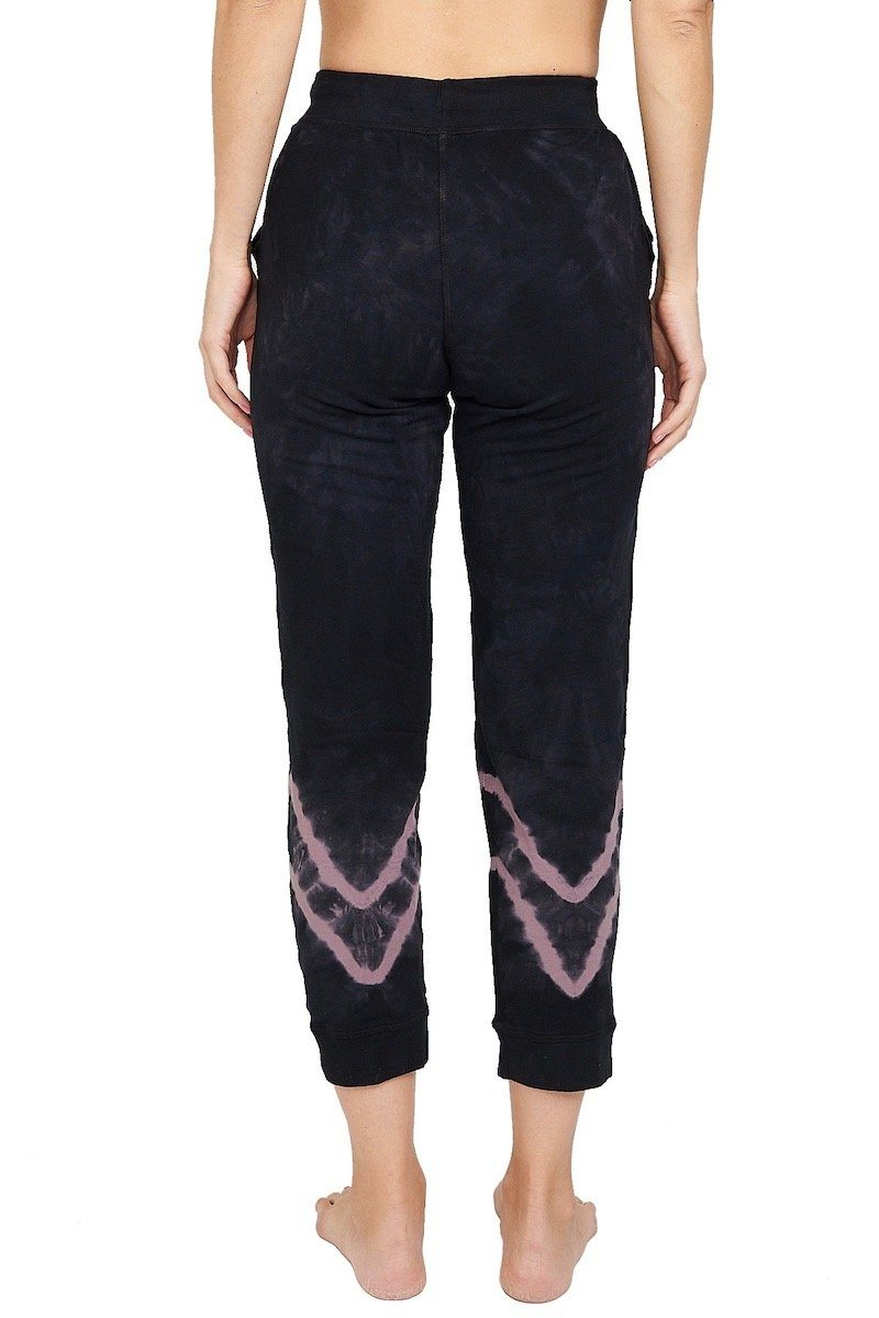 Abbot Kinney Sweatpant - Asphalt/Mauve - Electric & Rose | INFLOWSTYLE