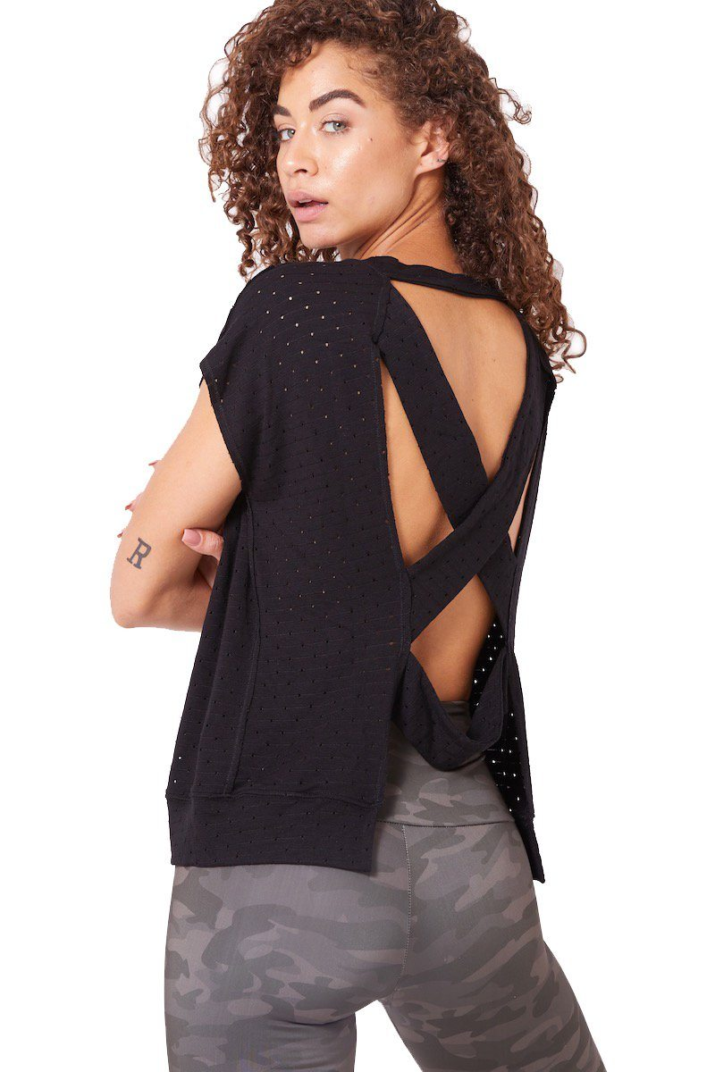 Aerie Open Back Tee - Vimmia | INFLOWSTYLE