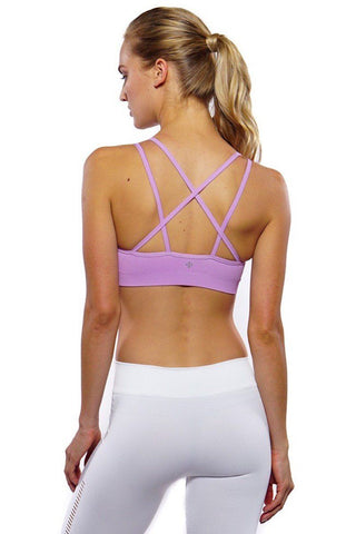New Strappy Bra - Light Orchid