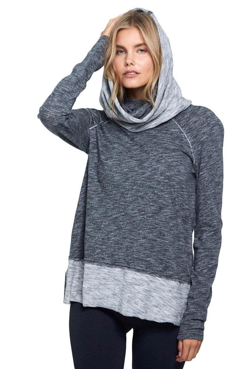 Beach Cowl Pullover - Free People | INFLOWSTYLE