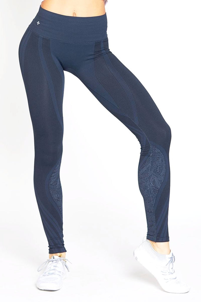 Ava Pant - Shale Blue - INFLOWSTYLE  - 2