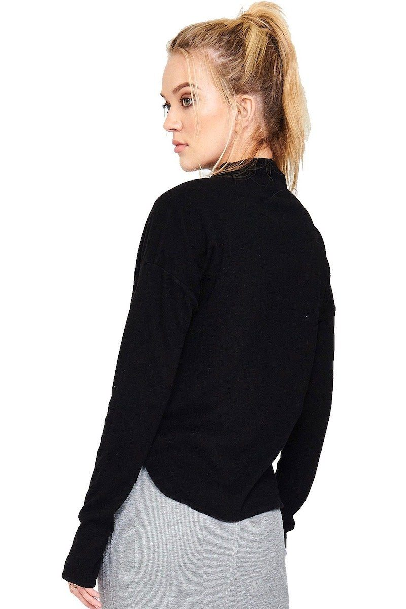 Boundary Crop Jacket - Black - Vimmia | INFLOWSTYLE