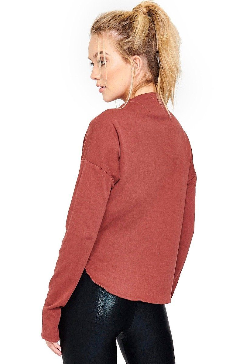 Boundary Crop Jacket - Terra - Vimmia | INFLOWSTYLE